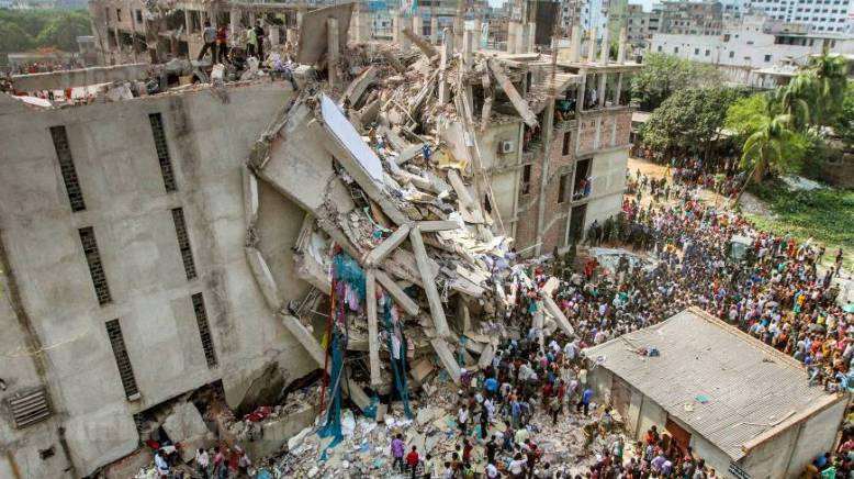 The Rana Plaza collapse.