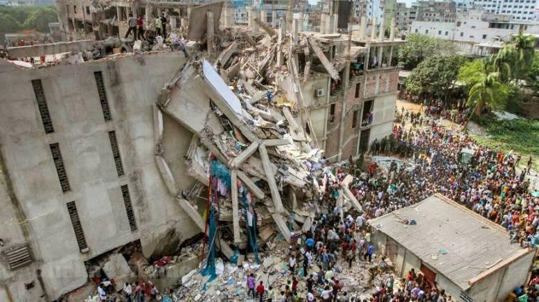 The Rana Plaza collapse.