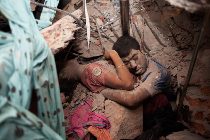 """Final Embrace"" by freelance photojournalist Taslima Akhter."